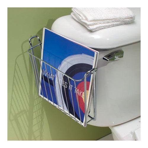 Over The Tank Bathroom Magazine Rack In Bathroom Magazine
