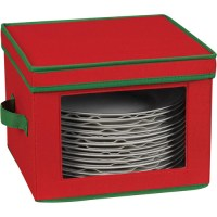 Vision Holiday Dinner Plate Storage Box in China Storage