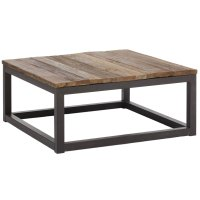 Industrial Square Coffee Table in Coffee Tables