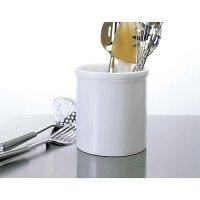 Large Ceramic Kitchen Utensil Holder - White in Kitchen ...