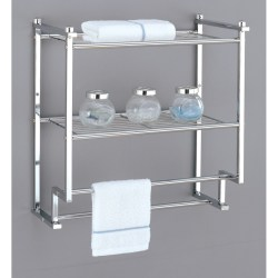 Small Crop Of Bathroom Racks And Shelves
