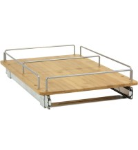 Pull-Out Cabinet Organizer - Bamboo in Pull Out Cabinet ...