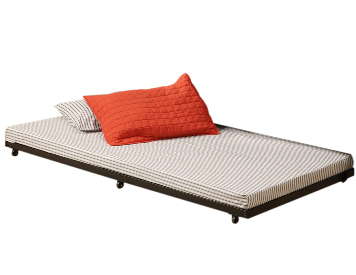 Twin Roll Out Trundle Bed Frame By Walker Edison In Beds