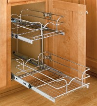 Two-Tier Cabinet Organizer - Extra Small in Pull Out ...