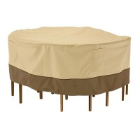 Round Patio Table and Chairs Cover in Patio Furniture Covers
