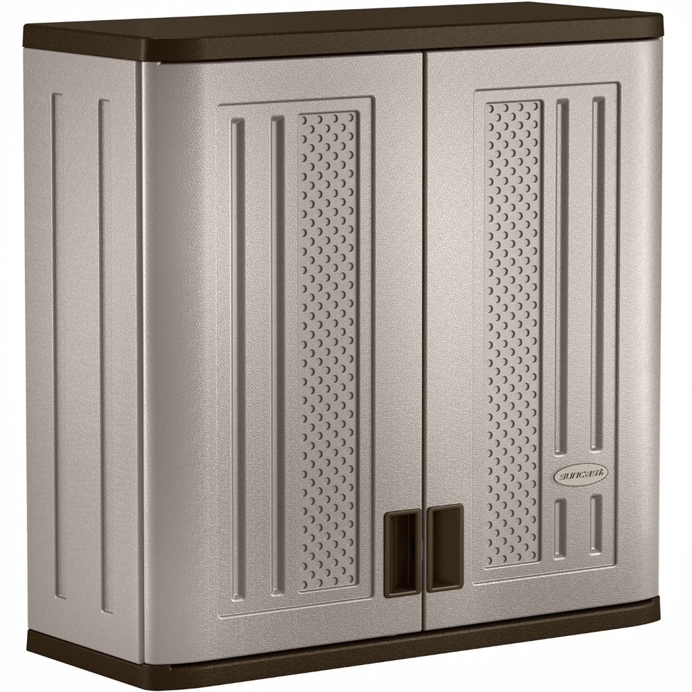 Wall Mounted Garage Cabinet In Storage Cabinets