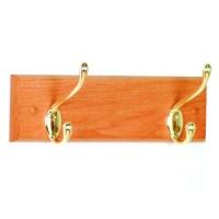 Coat Rack - Two Hook in Wall Coat Racks