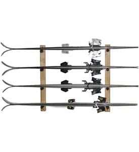 Ski Storage Rack Pine Horizontal In Sports Equipment
