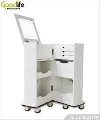 Hot Sale Goodlife Multiple Function Wheeled Wooden Storage ...