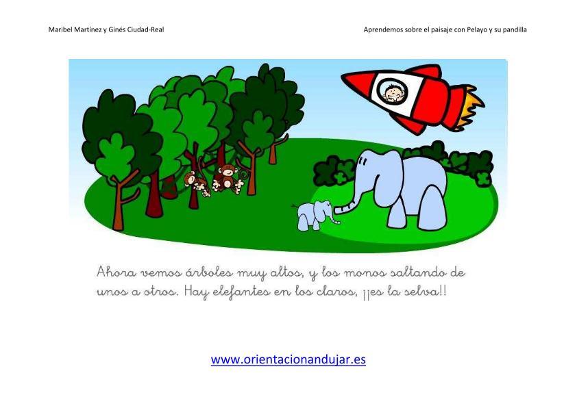 Unidades didácticas ideales para infantil y primaria el paisaje las sierras y picosUnidades didácticas ideales para infantil y primaria el paisaje el desierto Unidades didácticas ideales para infantil y primaria el paisaje La selva
