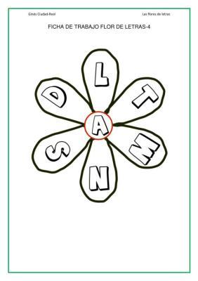 flores de letras de 6 petalos imagen_10
