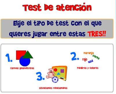 TEST DE ATENCION