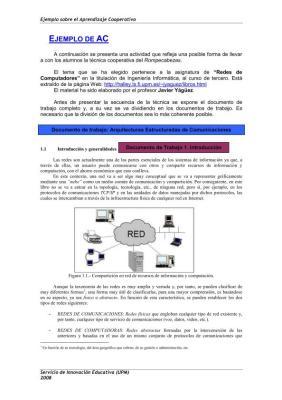 Ejemplo de Aprendizaje cooperativo IMAGEN