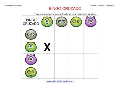 bingo cruzado halloween  matriz 4x4 IMAGEN 1