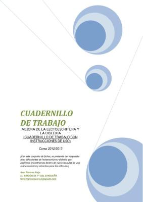 CUADERNILLO DE TRABAJO MEJORA DE LA LECTOESCRITURA imagen