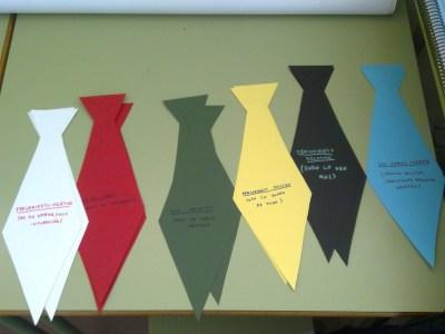 seis corbatas