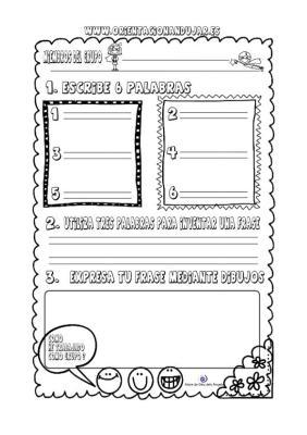Organizador gráfico para trabajar palabras y frases en cooperativo IMAGEN 2