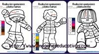 Os compartimos estas fantásticas fichas de matemáticas para sumar y colorear según el resultado, de manera que los niños además de practicar la suma se entretengan coloreando estos estupendos dibujos […]