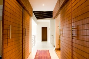 Bamboo doors - internal