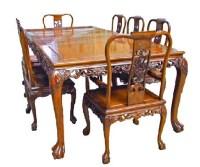 Grape design Dining Suite, Tiger legs plus 8 chairs