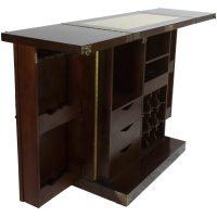 Oriental Furniture Korean Antique Style Liquor Cabinet ...