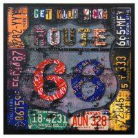 Route 66 Canvas Wall Art   eBay