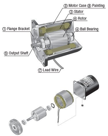 AC Induction Motors  Gear Motors - Single-Phase and Three-Phase