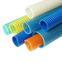 pvc suction hose, pvc helix reinforced vacuum hose, drain pipe