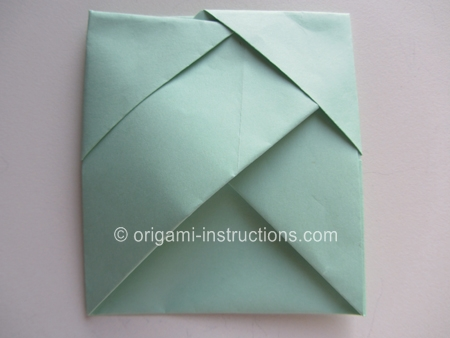 Origami Bamboo Letterfold Folding Instructions