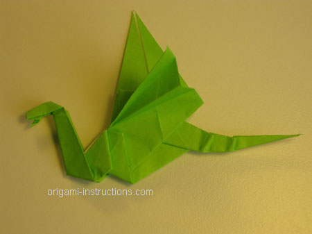 Origami Dragon Folding Instructions How To Make Origami