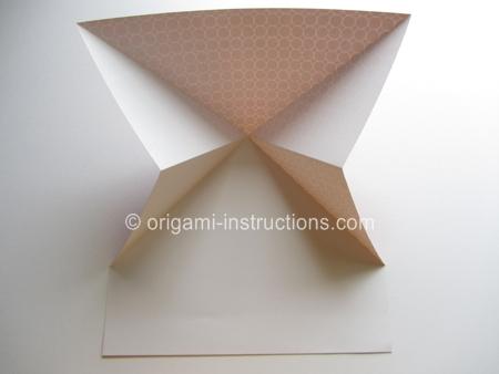 Easy Origami Basketball Hoop Folding Instructions