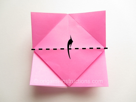 Origami Flower Rose Instructions Flowers Healthy
