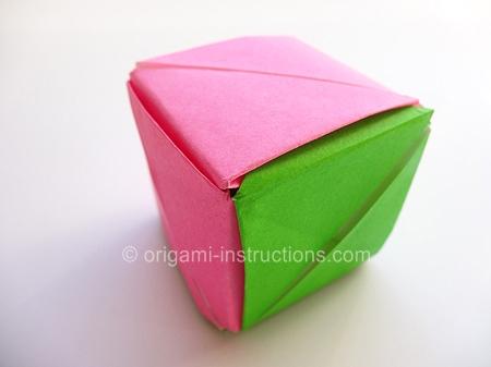 Modular Origami Box Ivoiregion