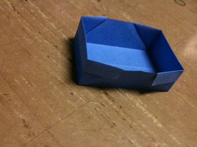 Origami Rectangle Box Folding Instructions - How to Fold an Origami