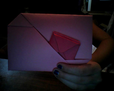 Easy Origami Envelope Folding Instructions How To Make
