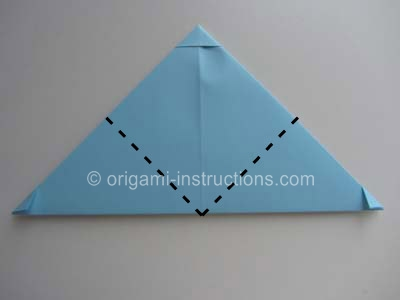 Origami Square Letter Fold Instructions