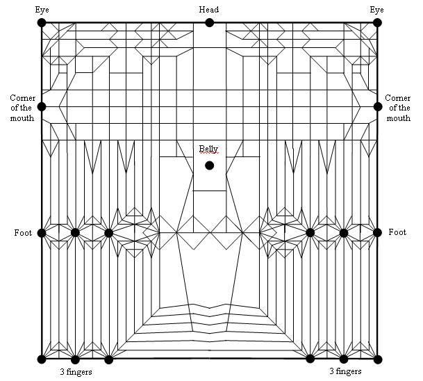 complex origami diagram diagrams for origami models