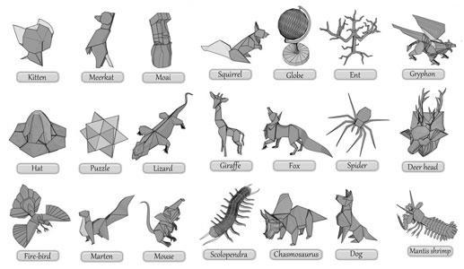 complex origami diagrams
