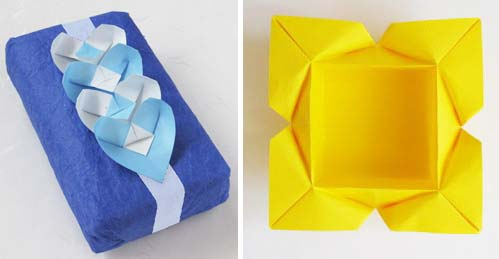 Origami Instructions Heart Petal Box A Video To Make