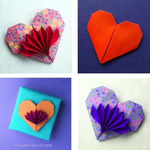 How to Make a Cute and Easy Origami Heart