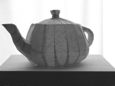 Tachi Tomohiro 3D Teapot
