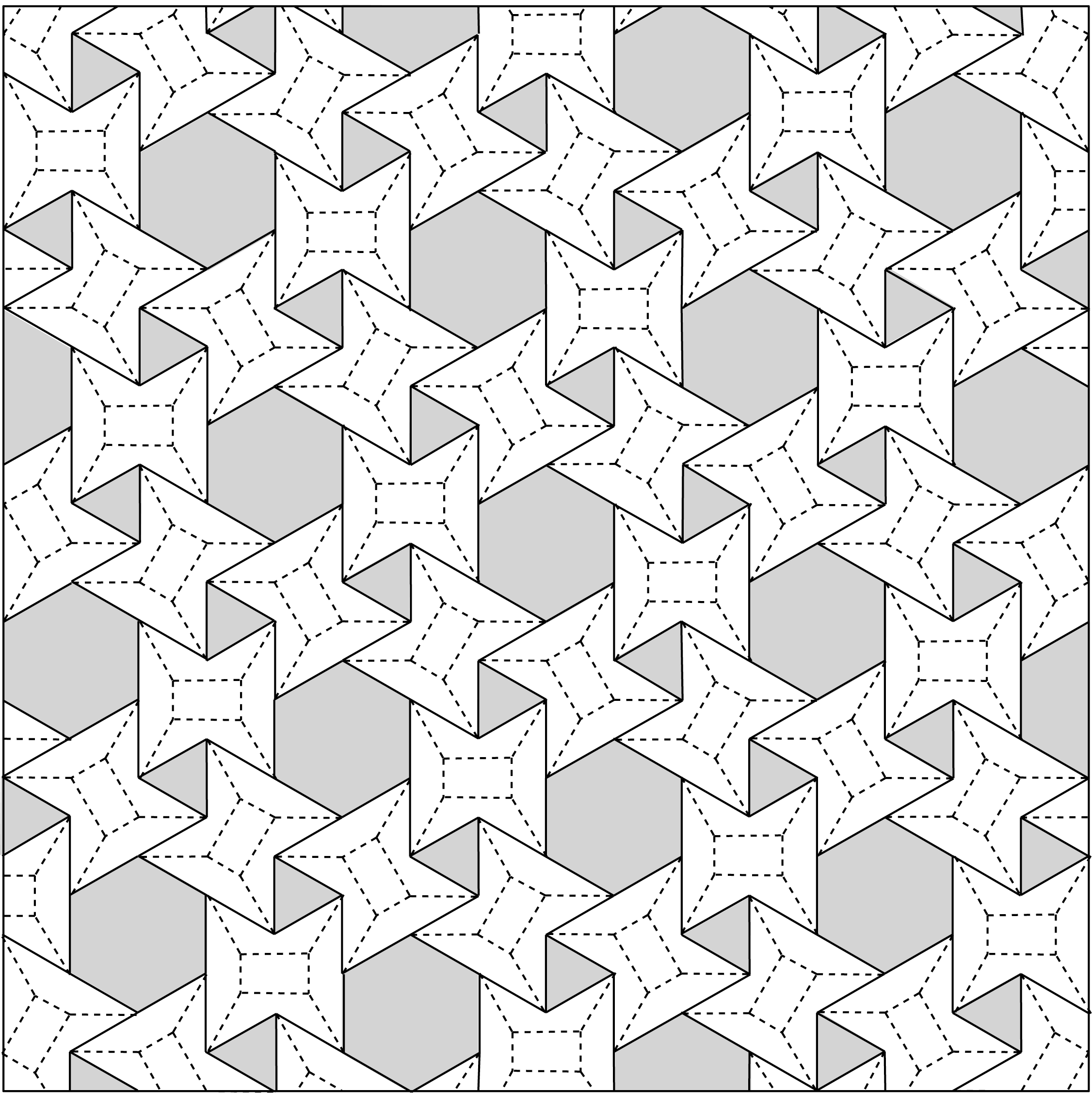 Origami Crease Patterns And Diagrams Guide Troubleshooting Of John Deere Wiring Diagram Download 7520 3 6 Waterbomb Flagstone Tessellation Pattern To Print On Paper