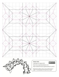 polish convention diagrams  u2013 origami tessellations