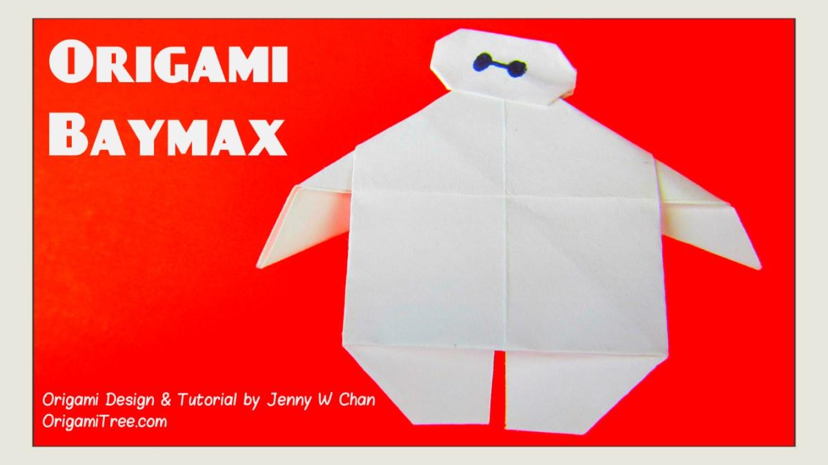 Origami Baymax - Disney's BIG HERO 6