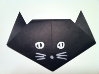 How To Make A Paper Cat Easy Origami Cat Instructions For