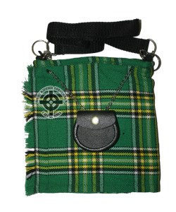 Ladies Tartan Purse - Green
