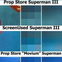 Superman Costume Color Analysis & Reference: BLUE