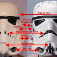 Cross-Hobby Buzz & Questions About Unfinished/Incomplete Stormtrooper Helmet