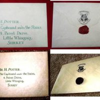 "Les Hemstock ""Movie Used"" Harry Potter Envelope, Warner Bros. COA"