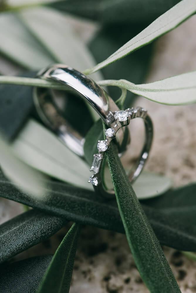 Vicky & Gareth wedding rings